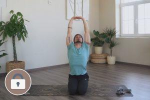 Kezdő jógaóra 3. – 1. szint